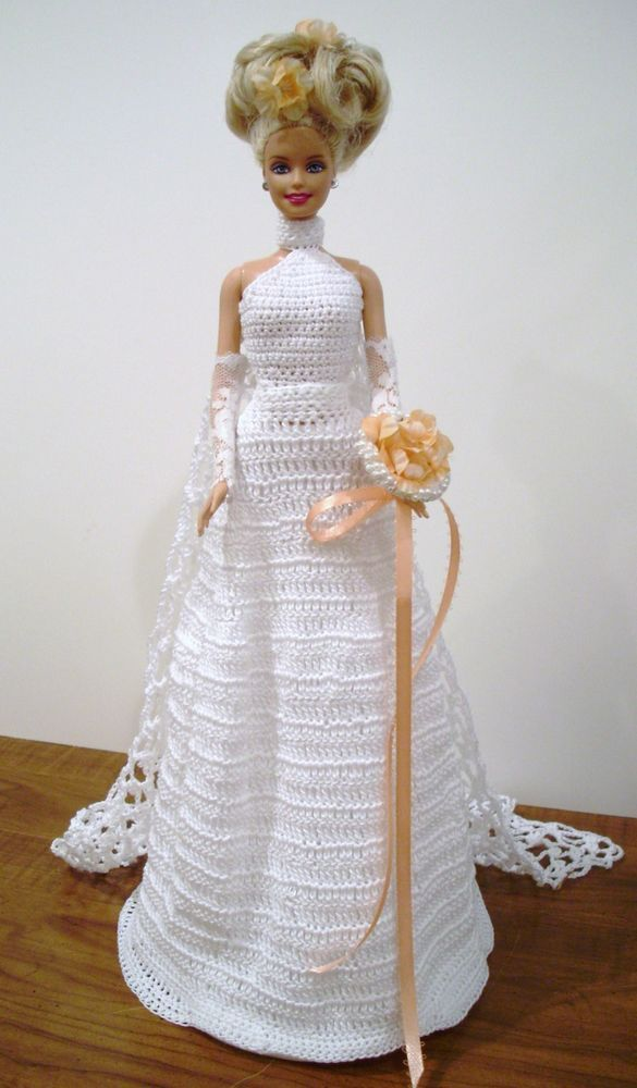 BRIDE DOLL - BARBIE (011) #DollClothingAccessories