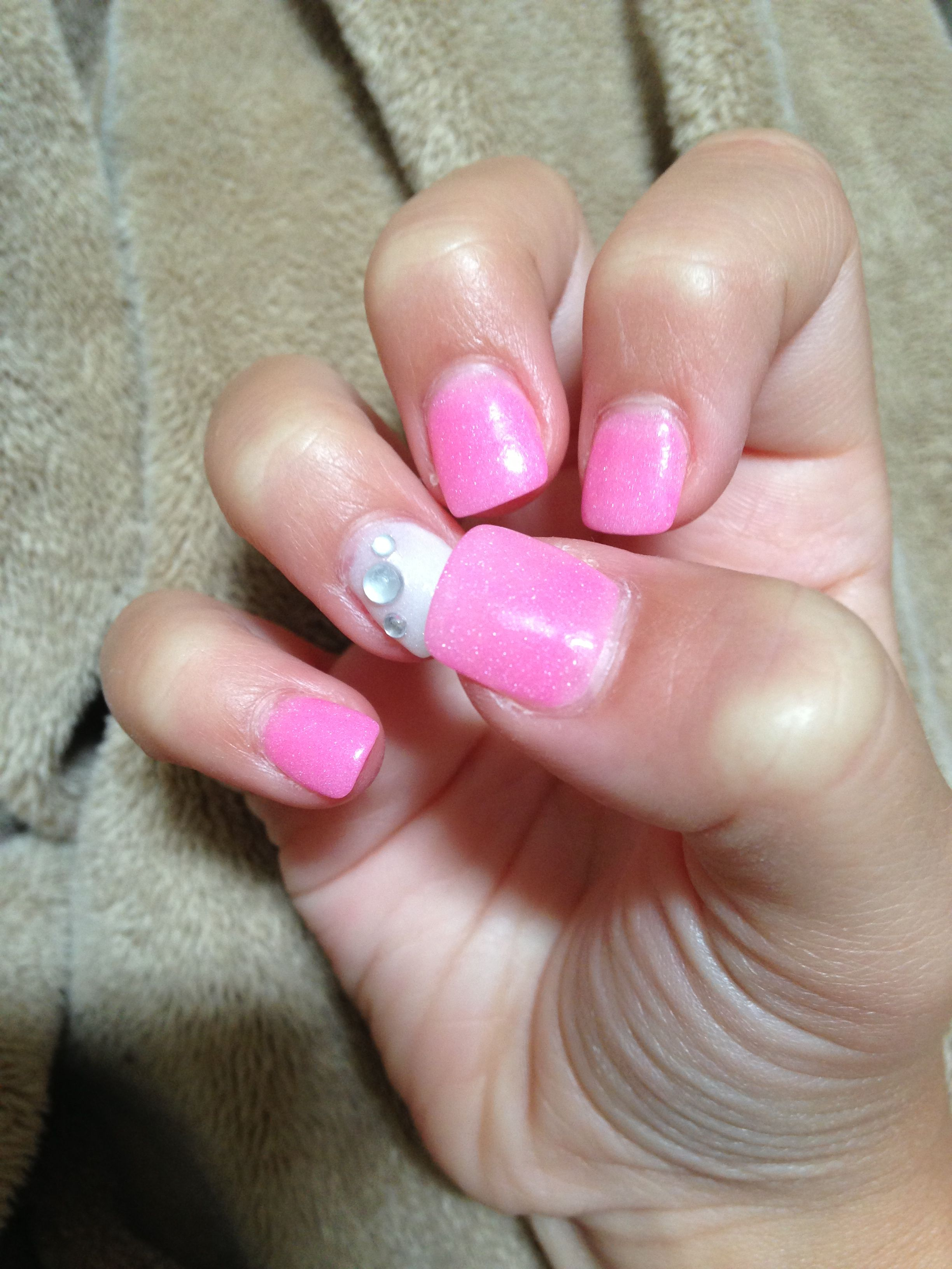 Nexgen nails!!!!they r so fun to do if acrylic nails r to thick for ...
