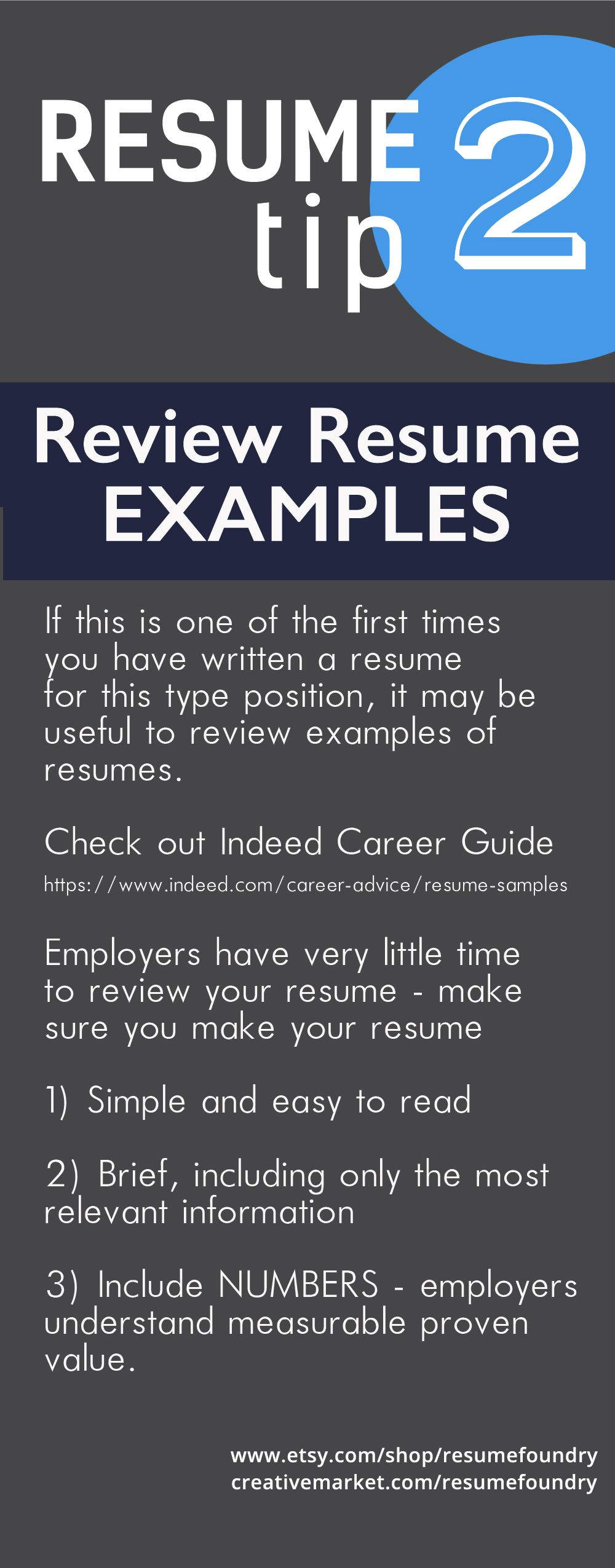 Pin by Resume Foundry on Resume Tips Resume examples
