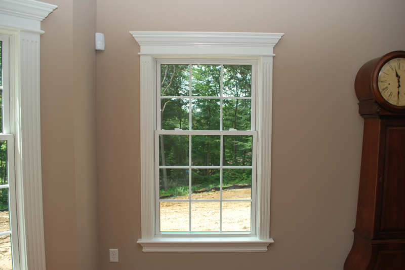 Integrate Window And Door Trim With Wainscoting Panels