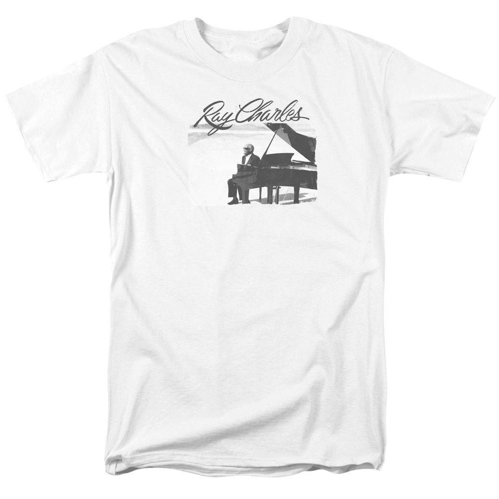 Ray Charleshort Sleeveunny Ray Short Sleeve Adult T-Shirt 18/1 in