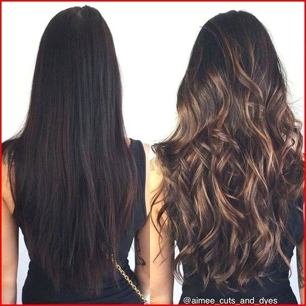 Different Hair Colors Highlights Long Brunette Hair Hair Styles Hair Color Balayage