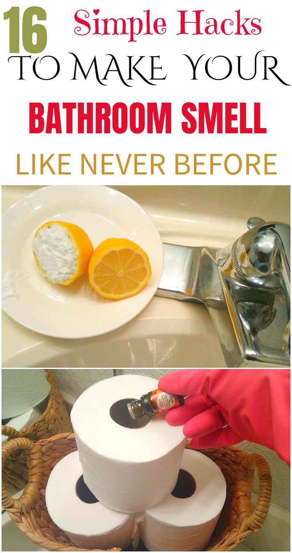 16 Simple Ways To Make Your Bathroom Smell Like A