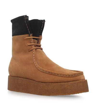 ALEXANDER WANG Selma Leather Boots. #alexanderwang #shoes #