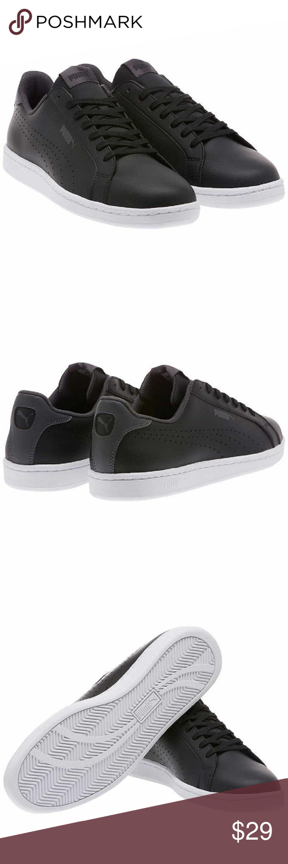PUMA Smash Leather Classic Sneaker
