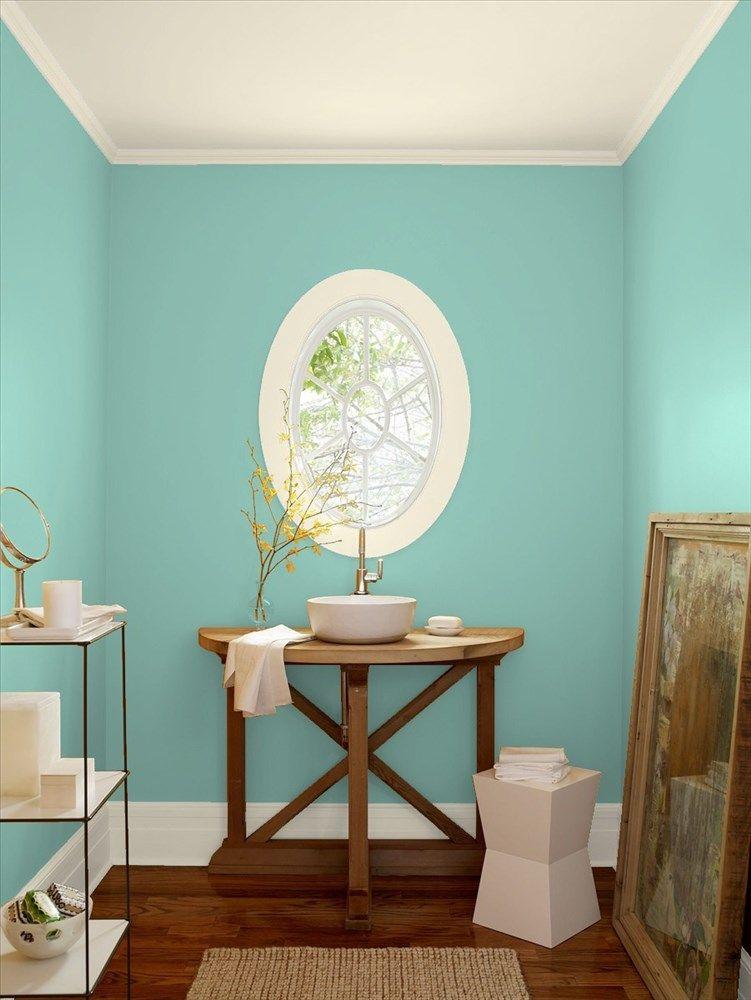 Bathroom 6 Benjamin Moore Hazy Blue