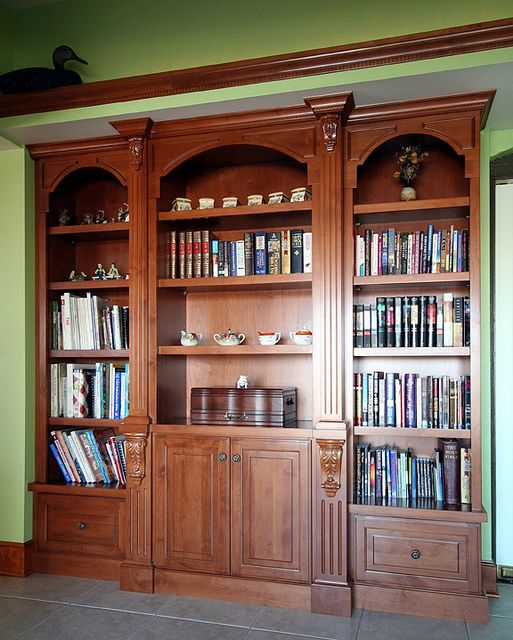 Custom Design Bookcase by Design Cabinetry Inc. | Specialty Designs ...