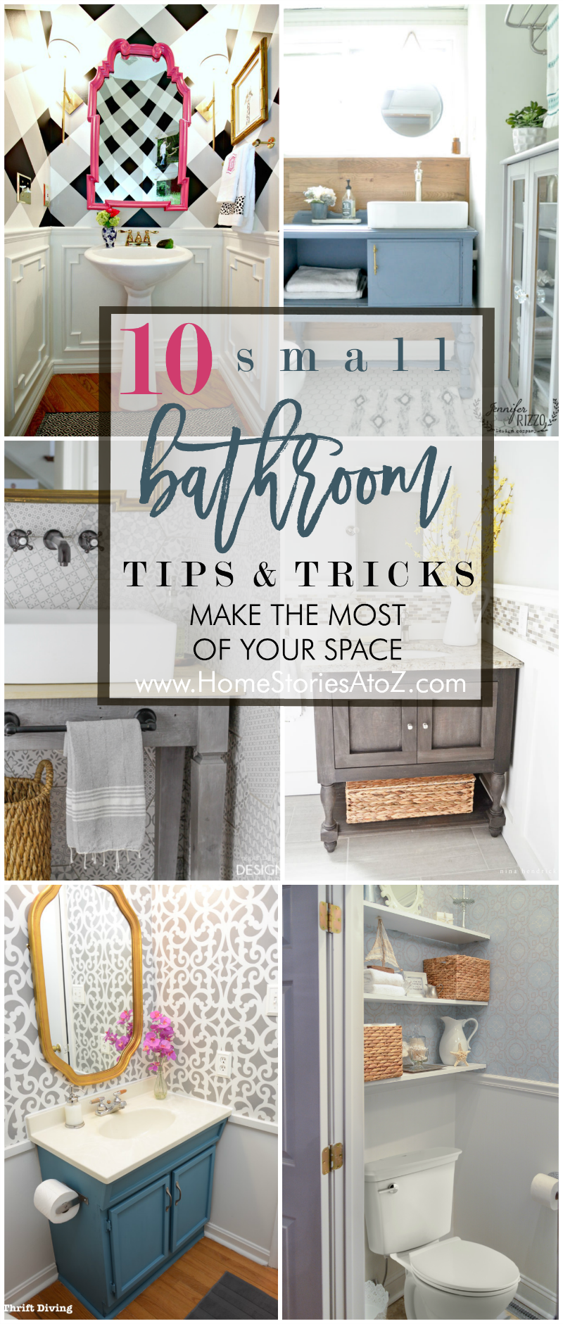 10 Helpful Tips for Making the Most of Your Small Bathroom | Small ...