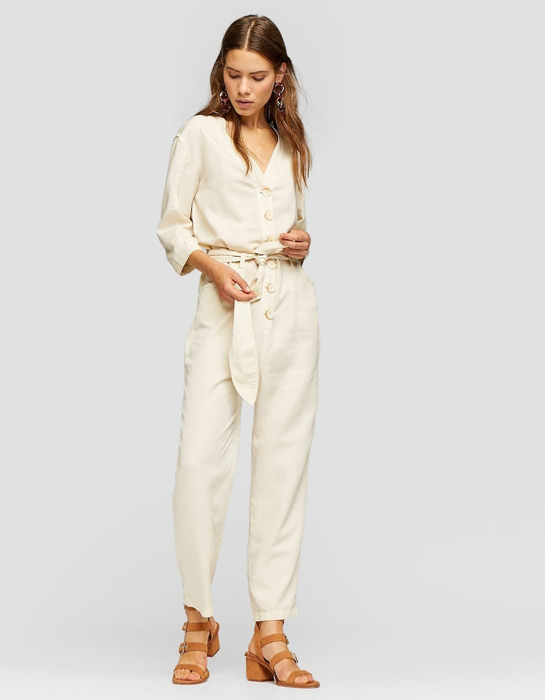 7a5bad1ae4 Utility jumpsuit with buttons - JUST IN