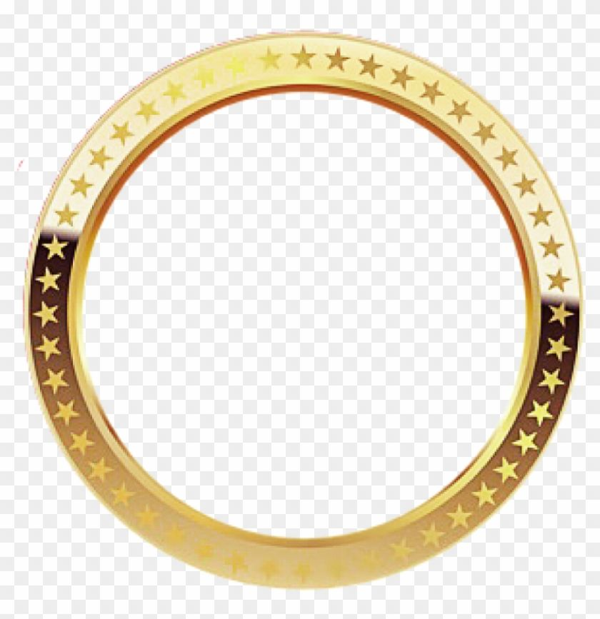 Find Hd Elvissung Circle Frame Gold Shiny Borderfreetoedit Hd Png Download To Search And Download More Free Trans Gold Circle Frames Circle Frames Frame Logo