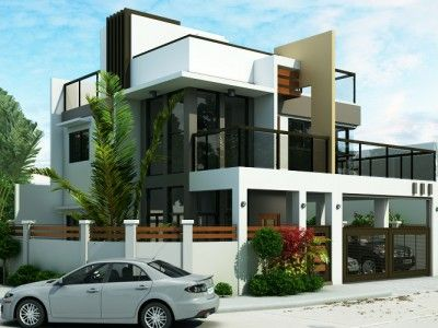 Modern House Design Series: MHD-2014014 | Pinoy ePlans - Modern ...