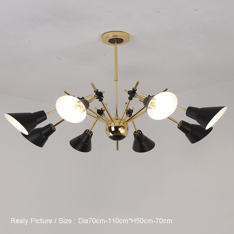 Modern ceiling chandelier lights e27 lampholder chandeliers bedroom living room home lighting voltage 220v 260v