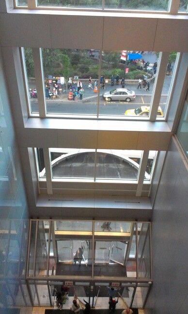 Looking Out The Front Door Of Dsw And Burlington In Union Square