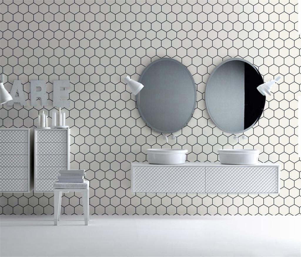 BADKAMER behang | Designwebwinkel | Banyo | Pinterest | Toilet ...