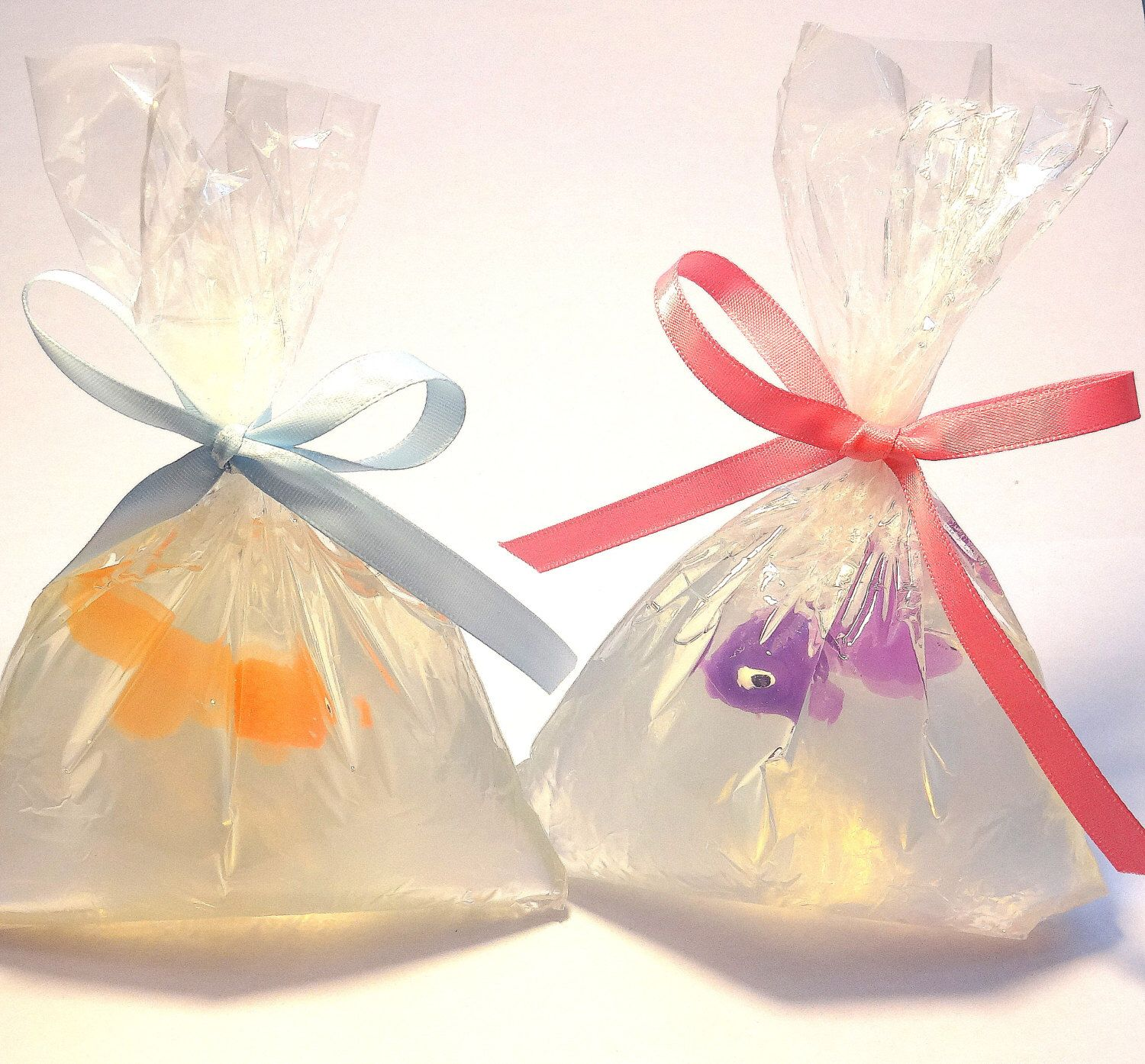 25 Pet Fish in a Bag Wedding favors - baby shower, tropical theme ...