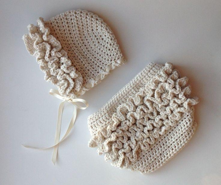 Ruffle Bum Diaper Cover Crochet Baby Stuff Pinterest Free