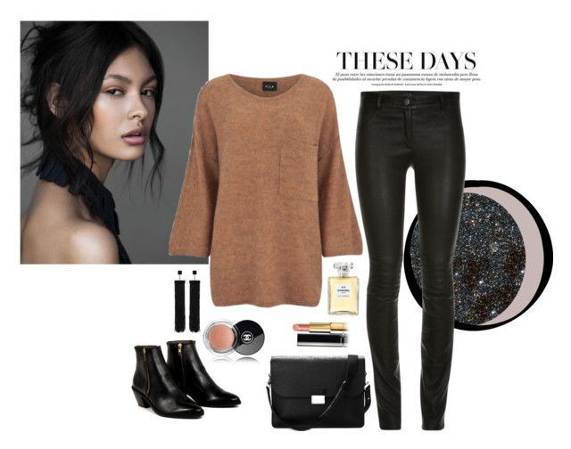 """""""Simple Bimple"""" by elisahupkes on Polyvore featuring mode, VILA, Tom Ford, Chanel, Aspinal of London, AZI, women's clothing, women, female en woman"""
