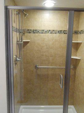 Master Bathroom Update Includes A Kohler Cast Iron Shower Base