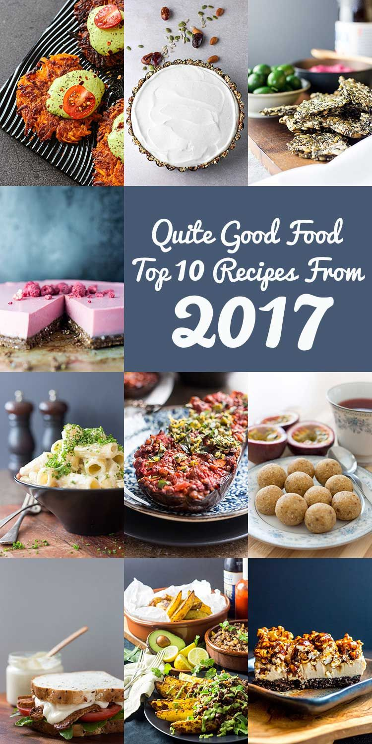 The 10 most popular quite good food recipes from 2017 including a the 10 most popular quite good food recipes from 2017 including a nice selection of forumfinder Images