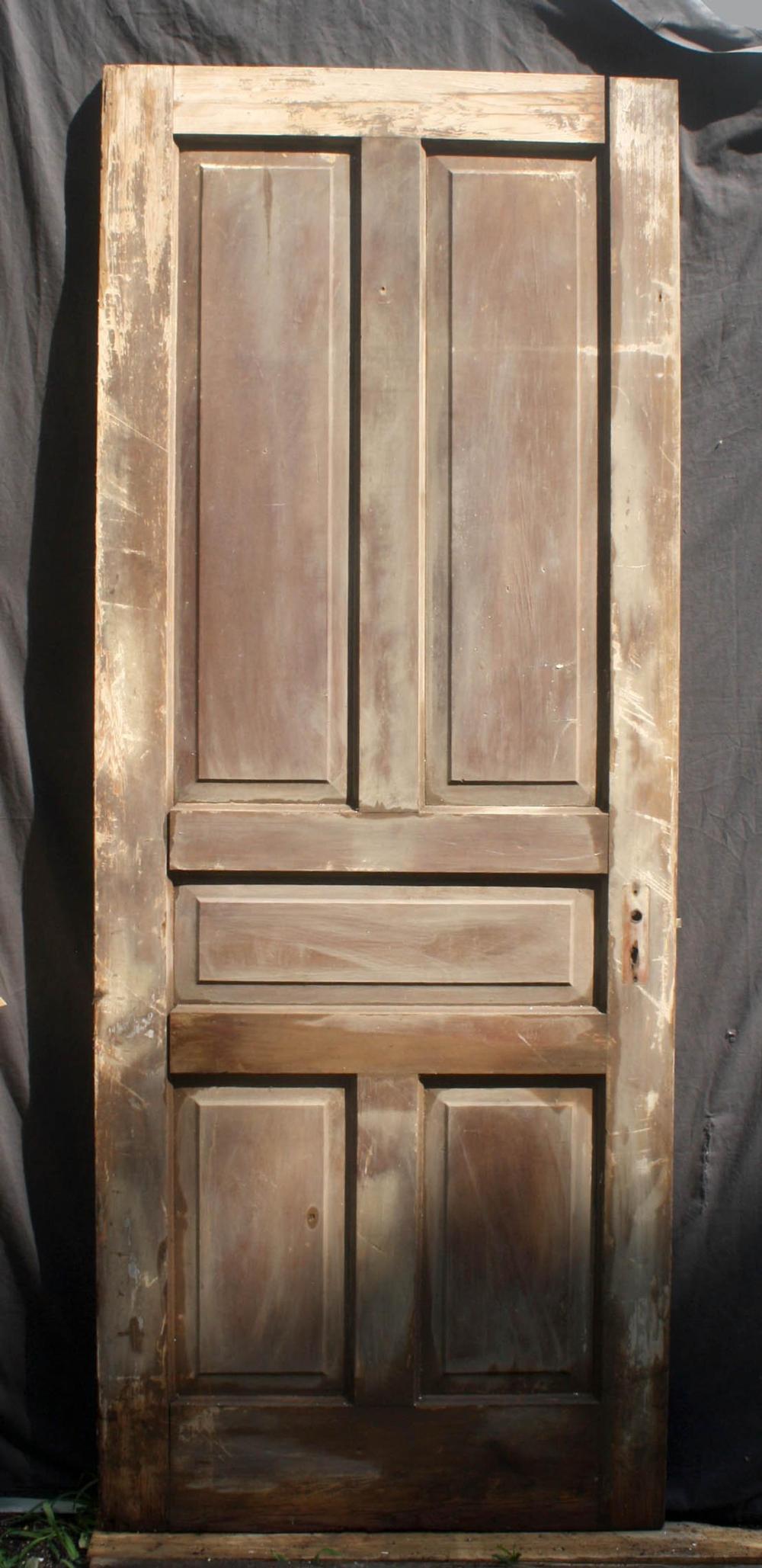 salvaged wood doors on 32 X81 Antique Vintage Salvaged Reclaimed Old Victorian Solid Wood Wooden Interior Door 5 Raised Panels In 2021 Wooden Doors Interior Old Wood Doors Antiques