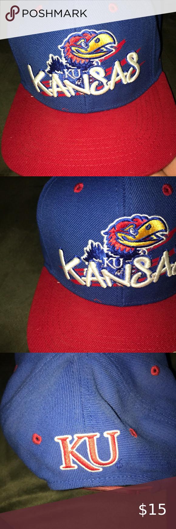 Ku Kansas Baseball Hat With Adjustable Strap In 2020 Baseball Hats Adjustable Straps Hats