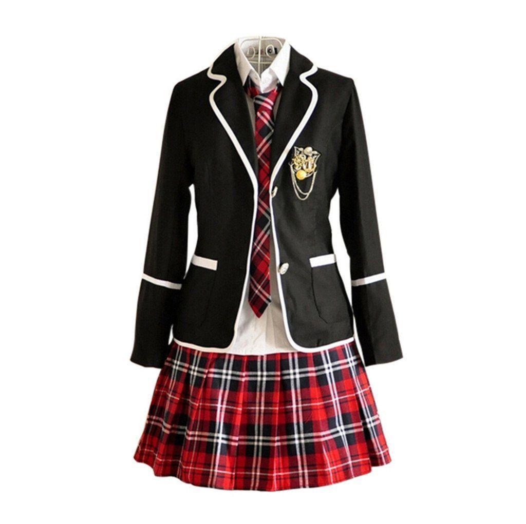 Amazon Com Nuotuo Womens British Style High School Uniforms