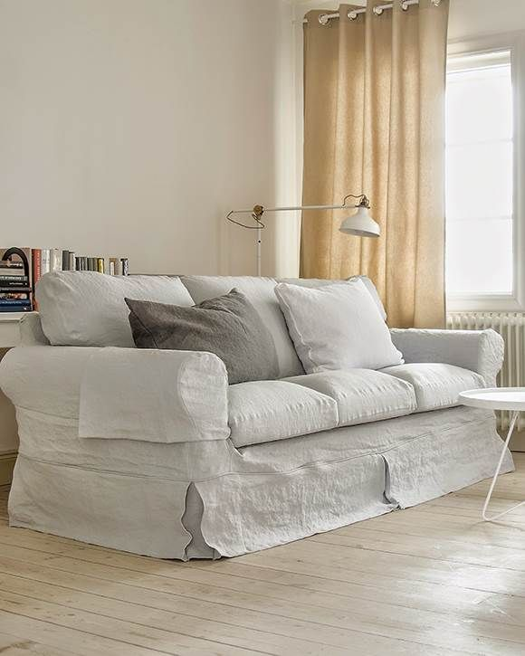 Ektorp, 3 Seater Sofa Cover Loose Fit Country   Bemz