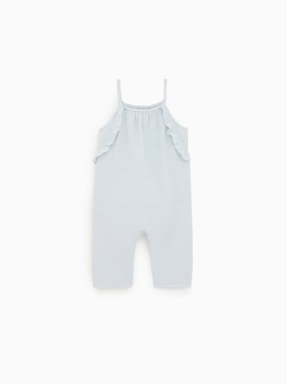 1ffed7a8d RUFFLED OVERALLS - NEW IN-BABY GIRL   3 mth - 4 yrs-KIDS   ZARA United  States