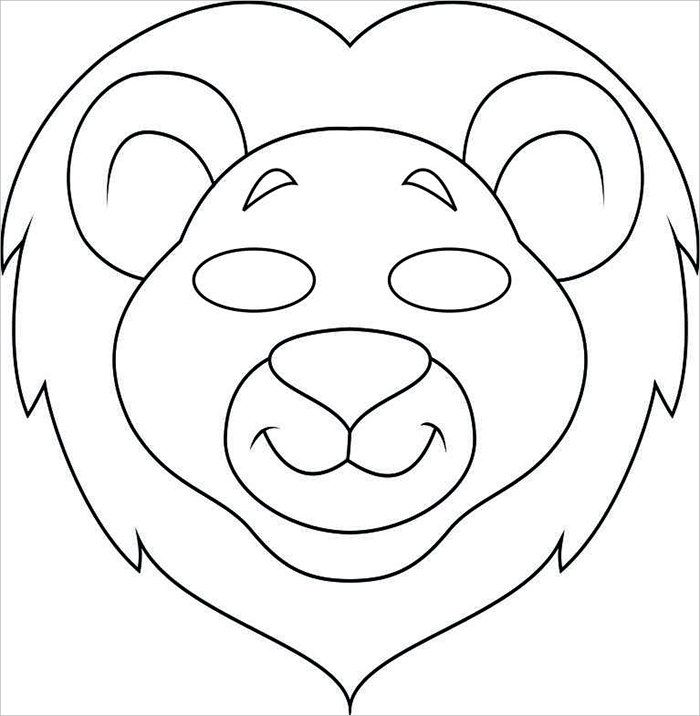 Animal Mask Template