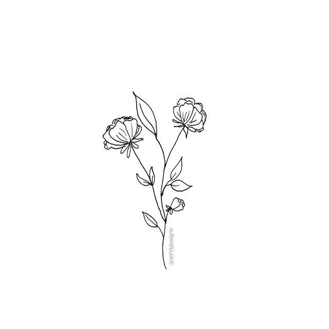 Addymccarthy Small Flower Tattoos Tiny Flower Tattoos
