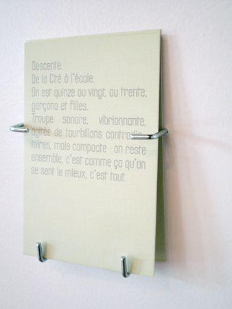 Documents d'artistes Auvergne-Rhône-Alpes : Documentation et édition en art contemporain » Atelier BL119 » Index des œuvres