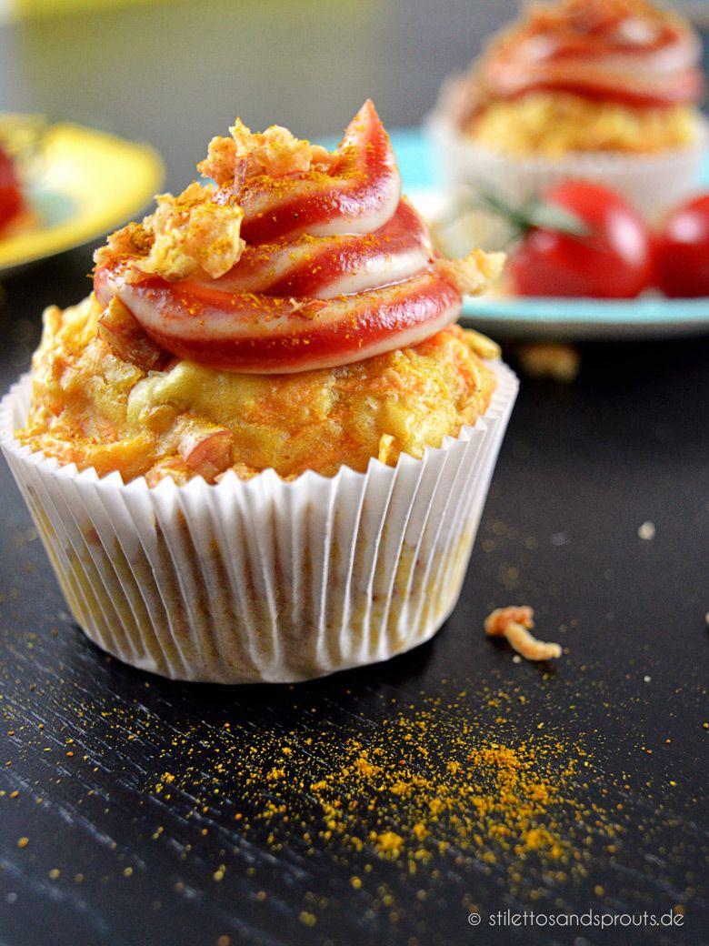 Currywurst Muffins – ein Partykracher! - Stilettos & Sprouts