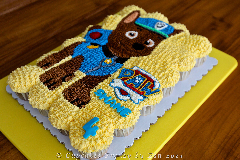 Paw Patrol Cupcakes Paw Patrol Birthday For Ayden