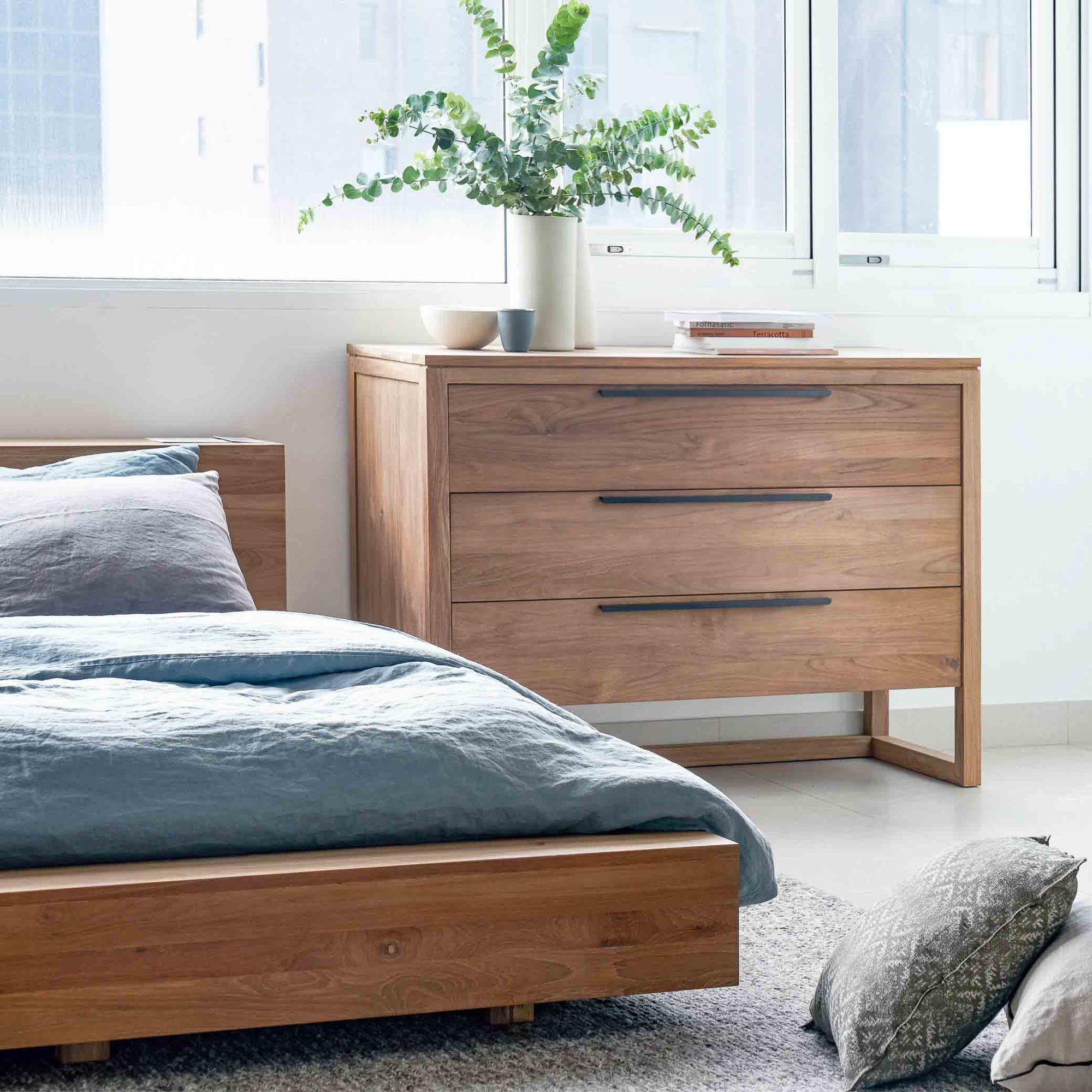 Teak Bed Frame Madra Bed Australia Size In 2020 Bed Frame Beds Australia Contemporary Platform Bed
