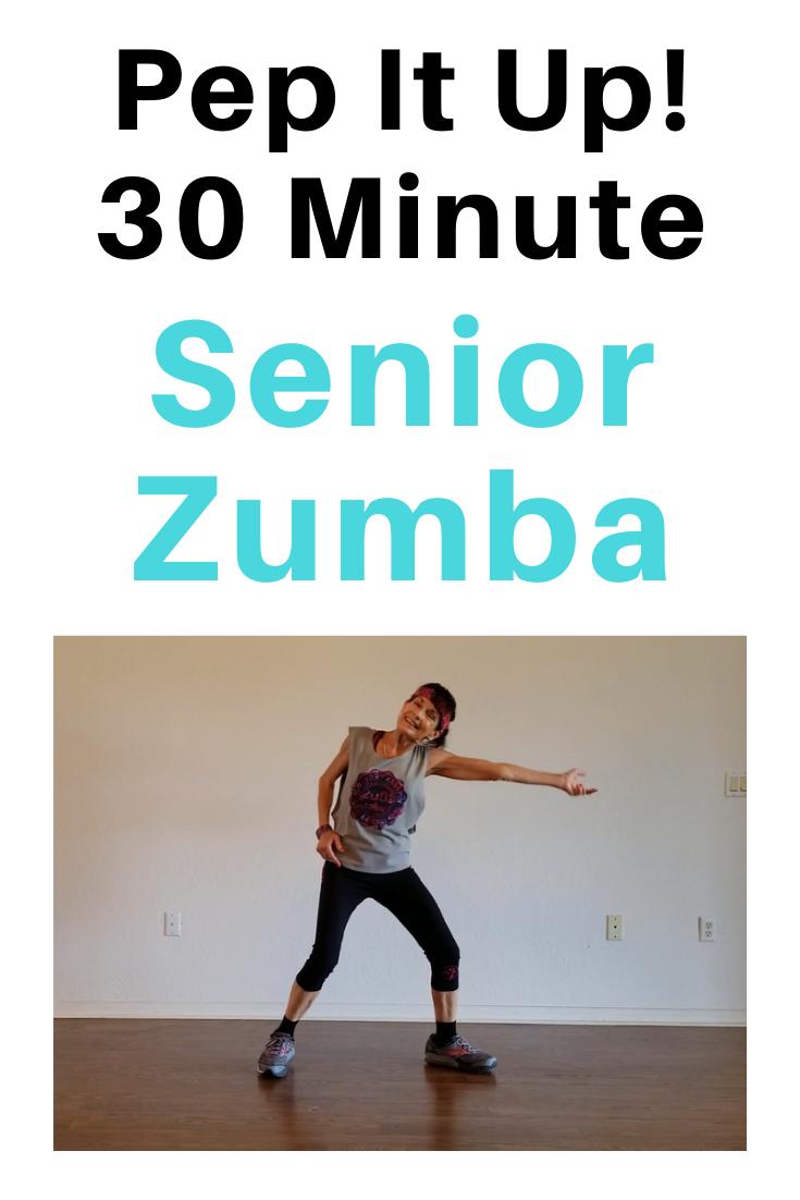 Lively 30-Minute Zumba for Seniors
