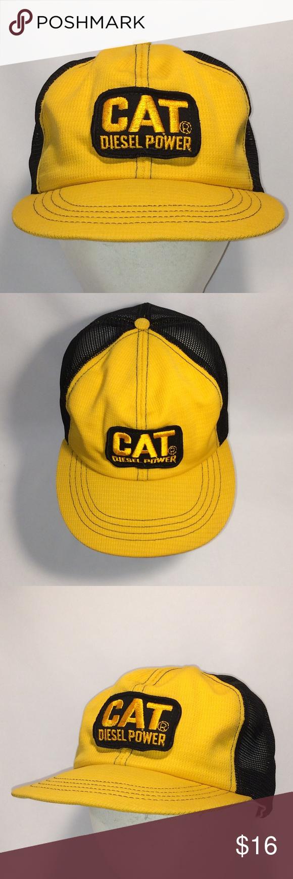 Cat Diesel Power Cowboy Hat