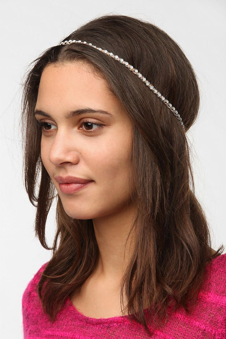 Delicate Embellished Headwrap  #UrbanOutfitters