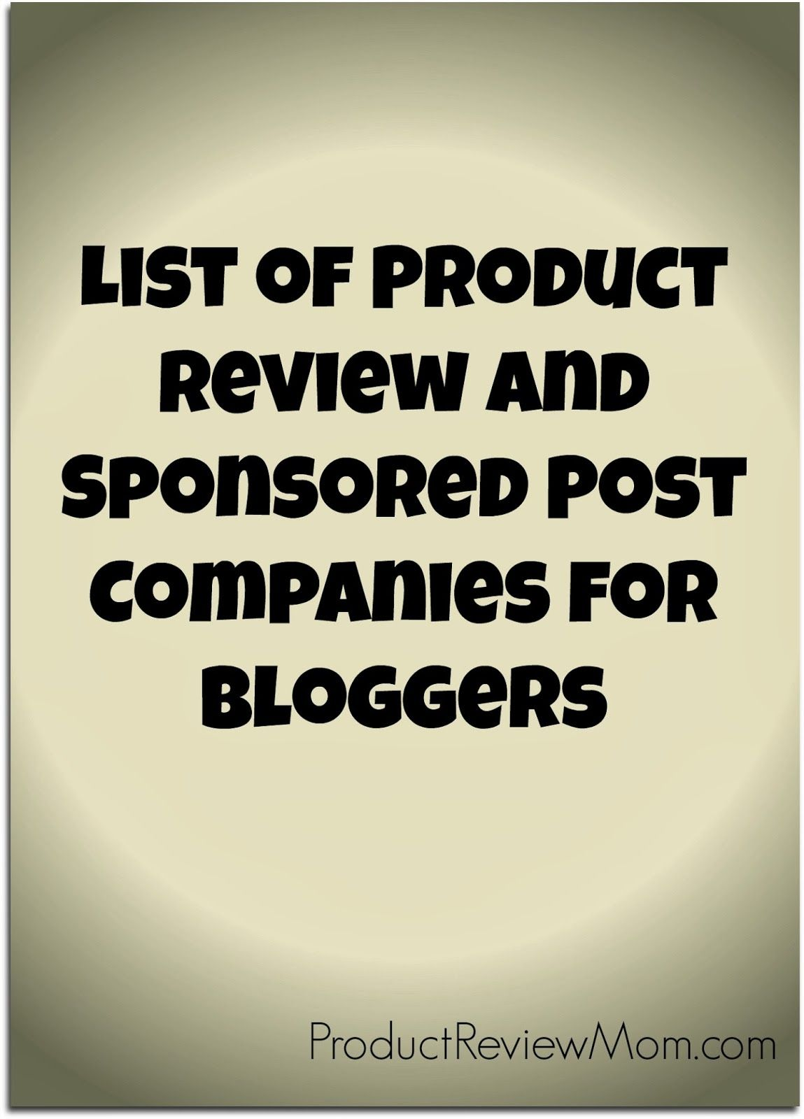 How to Become a Product Review Blogger and Get Sponsored By