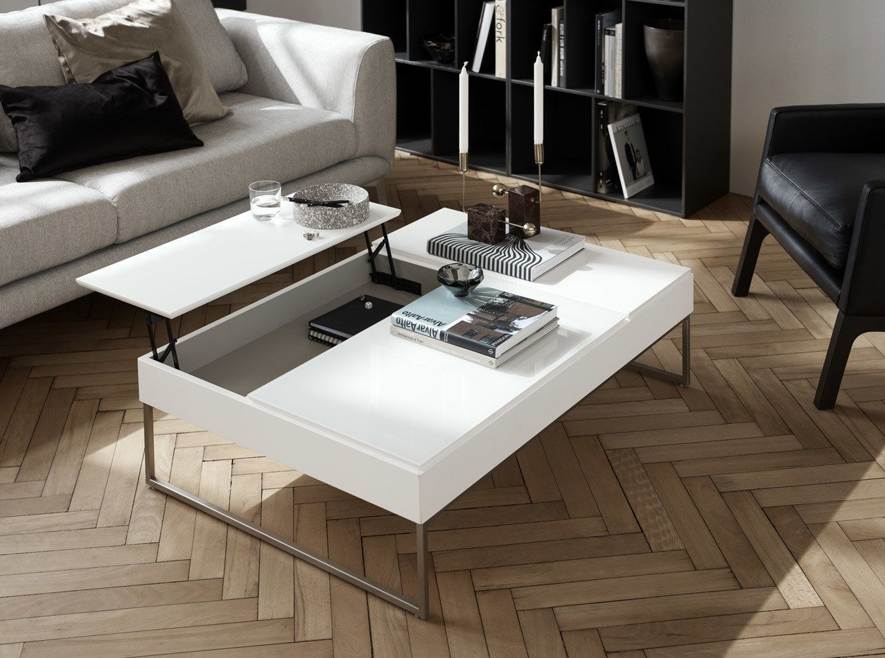 Coffee Tables Chiva Functional Coffee Table With Storage Boconcept Coffee Table With Storage Scandinavian Coffee Table Coffee Table White [ 950 x 1277 Pixel ]