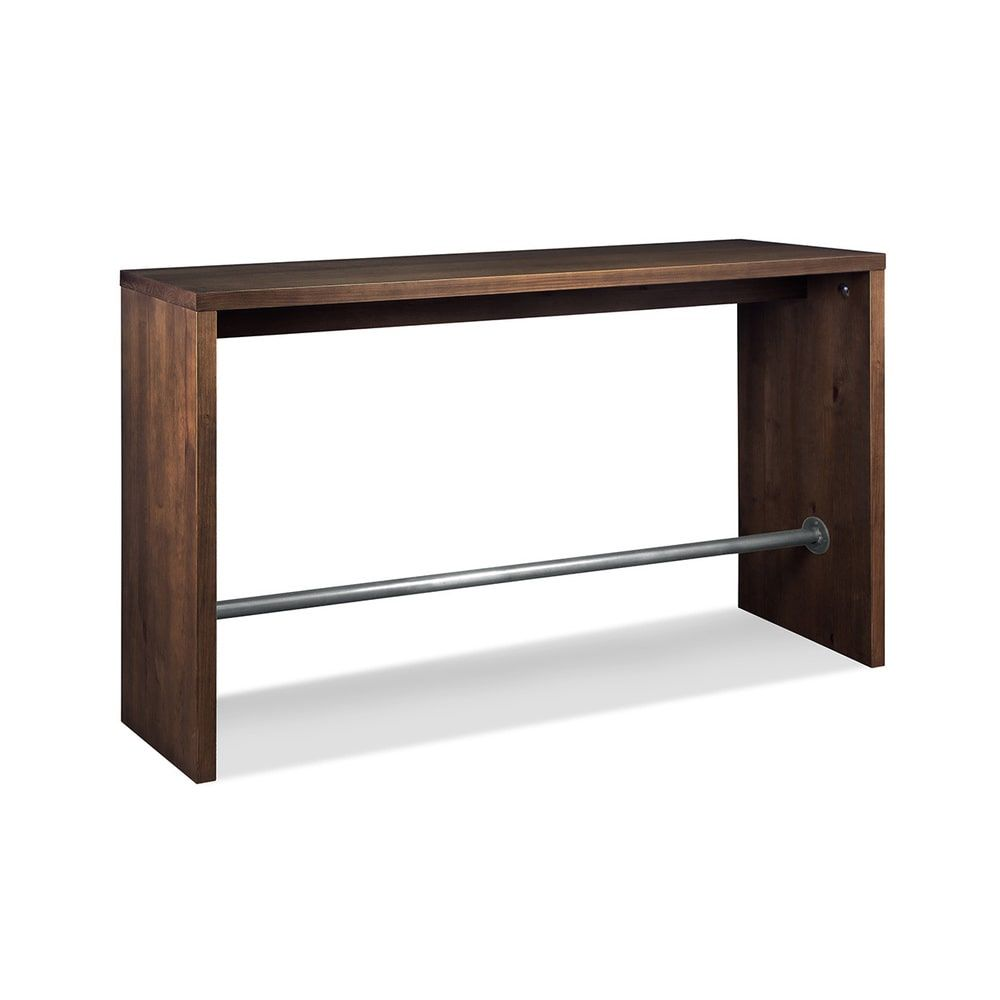 Artefama gourmet walnut bar table bar tablescounters pinterest