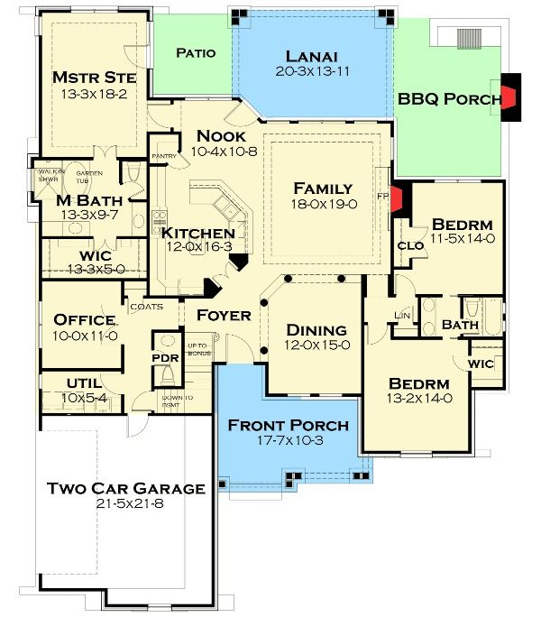 Plan 16863wg Rugged Rustic 3 Bedroom Home Plan With Images Craftsman House Plans Ranch House Plans House Plans