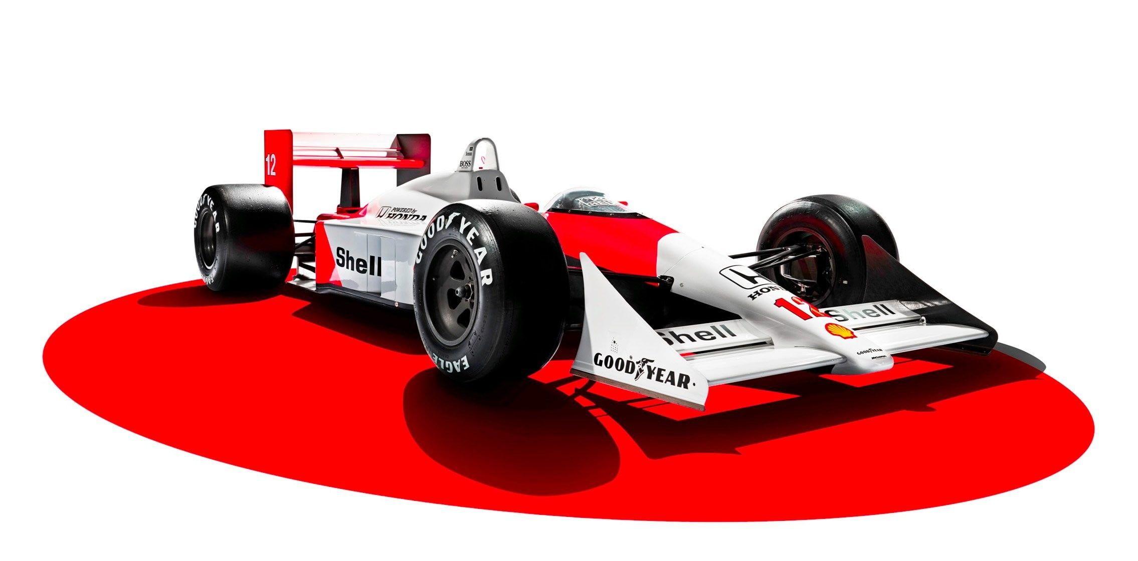 Red And White F1 Car Race Cars Formula 1 Mclaren F1 Honda Cgi Digital Art White Background Mclaren Mp4 4 1988 Ayrton Senna L In 2021 Racing Mclaren F1 Ayrton Senna