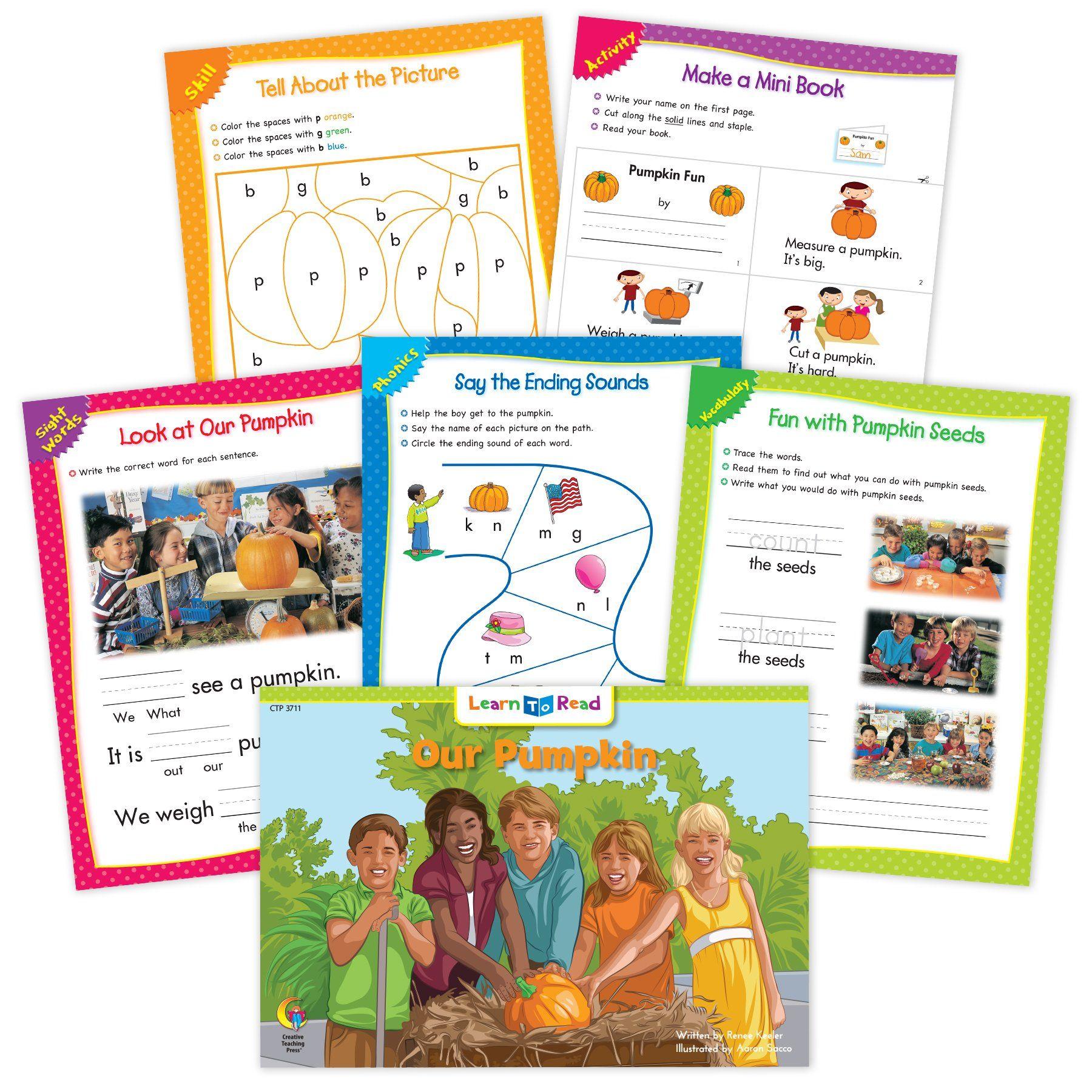 Our Pumpkin Ebook Amp Worksheets In