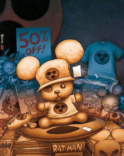Leo Ortolani - Copertina Tutto Rat-Man 34 (Colori Larry)