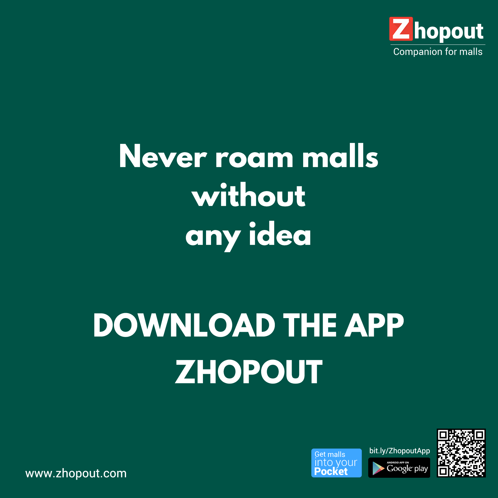 Download App bit.ly/ZhopoutApp?ref=TGM Download app