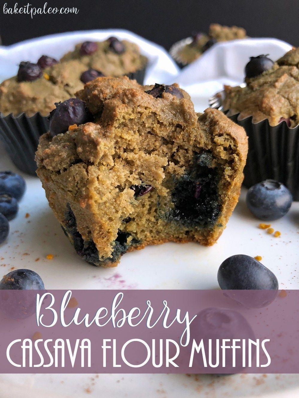 Blueberry Cassava Flour Muffins Recipe With Images Gluten