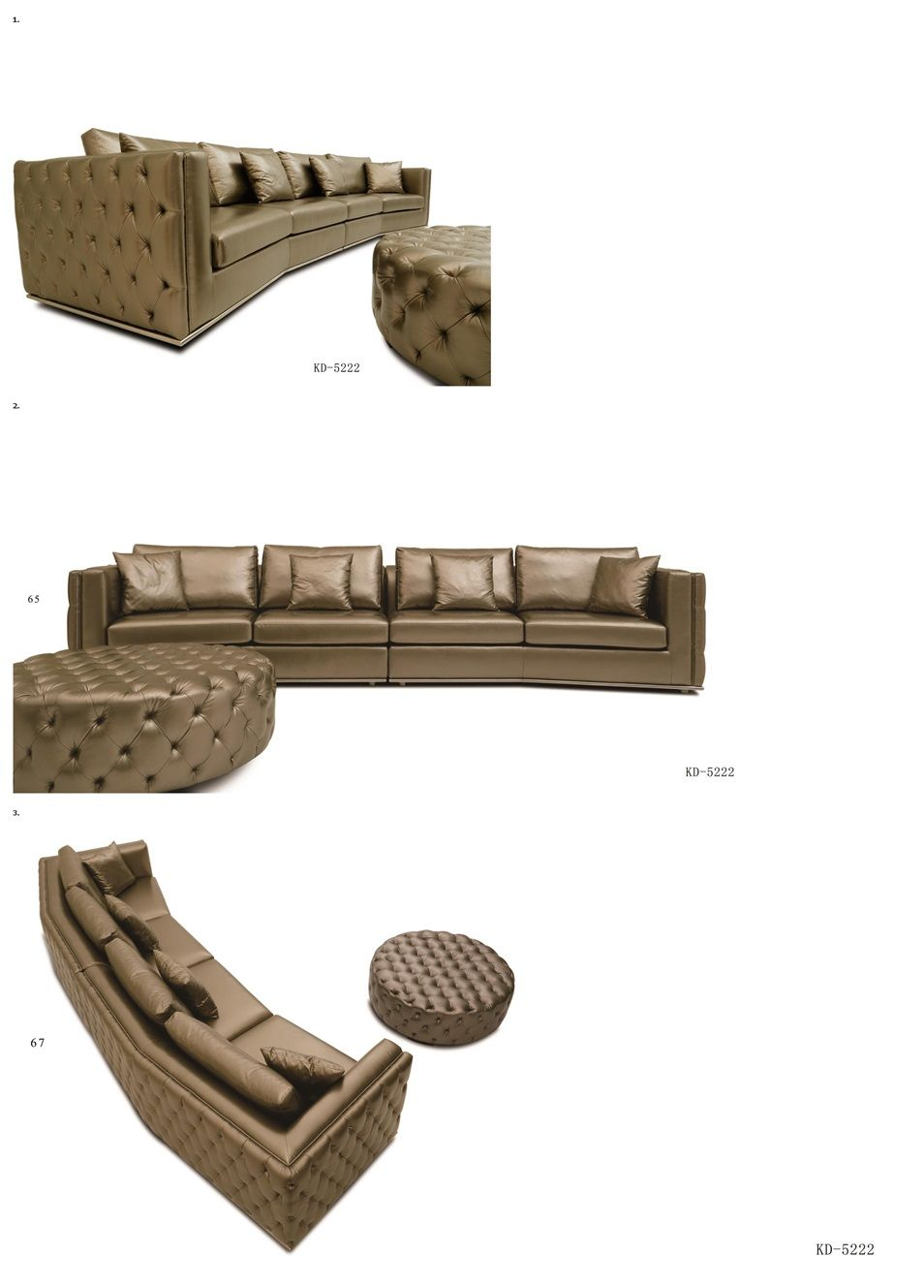 China Supplier Golden Micro Hotel Lobby Luxury Modern Sofa