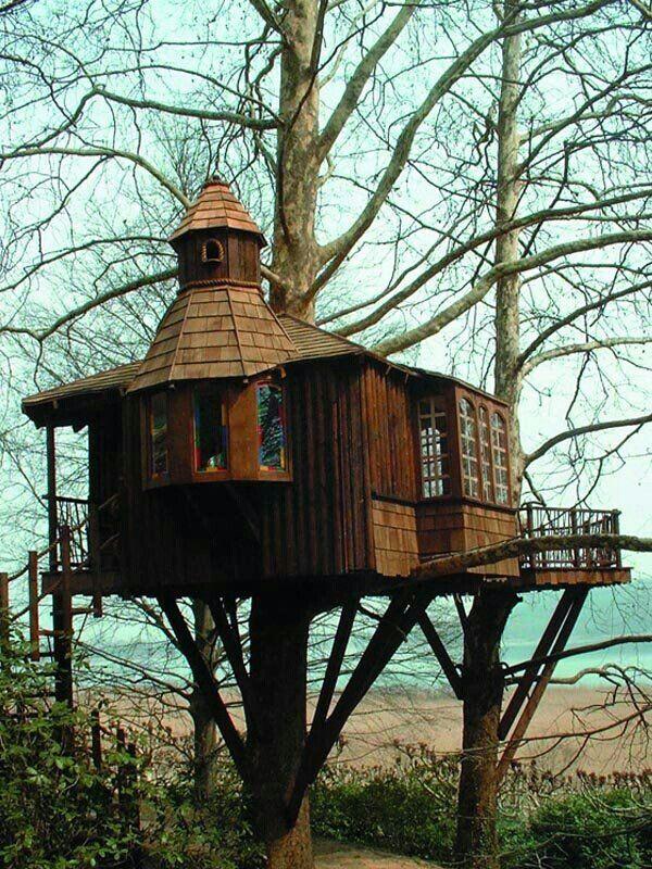 Fancy Tree House Repinned by #smgtreppen www.smg-treppen.de #treppen #treppenbau…