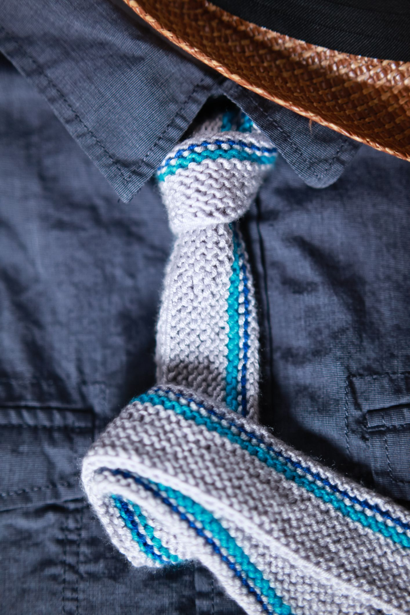 Easy Tie Dye Tips And Step By Step Instructions: Dad Style Vertical Stripe Tie Pattern (Knit)