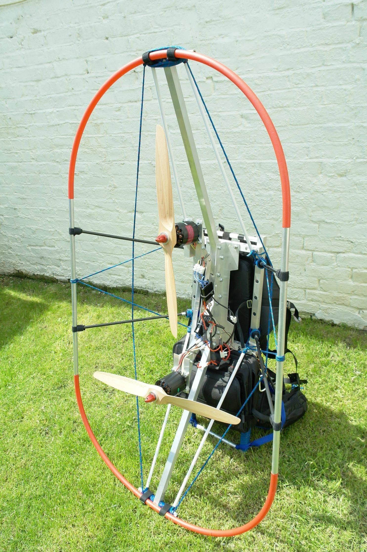 Twin Engine Paramotor   interesante   Powered parachute